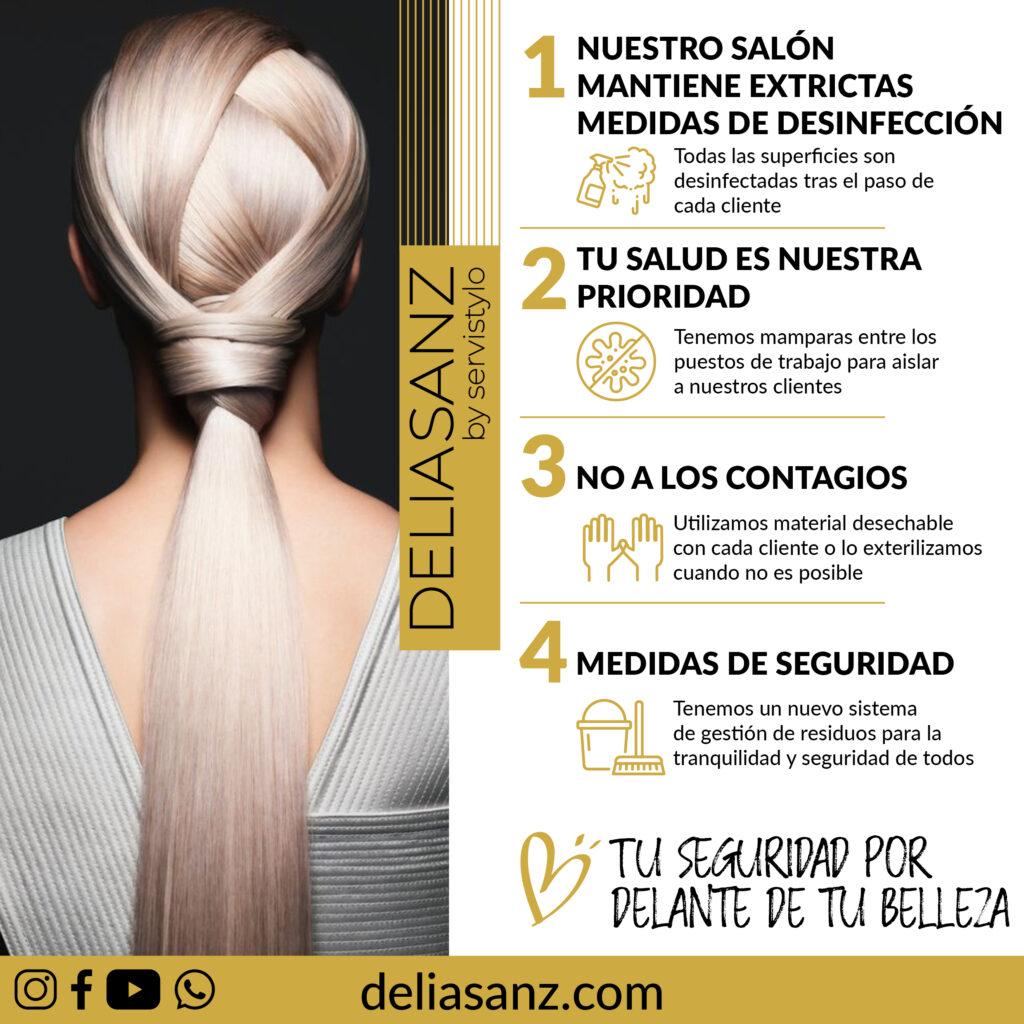 Delia Sanz Peluquería Barrio Salamanca - Servicio domicilio 24h